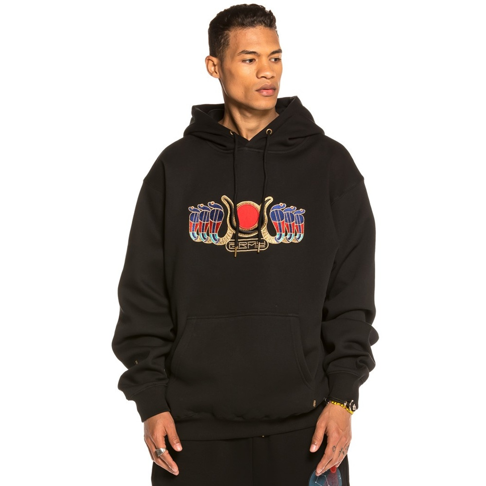 GRIMEY ENGINEERING OF THE GODS HOODIE BLACK