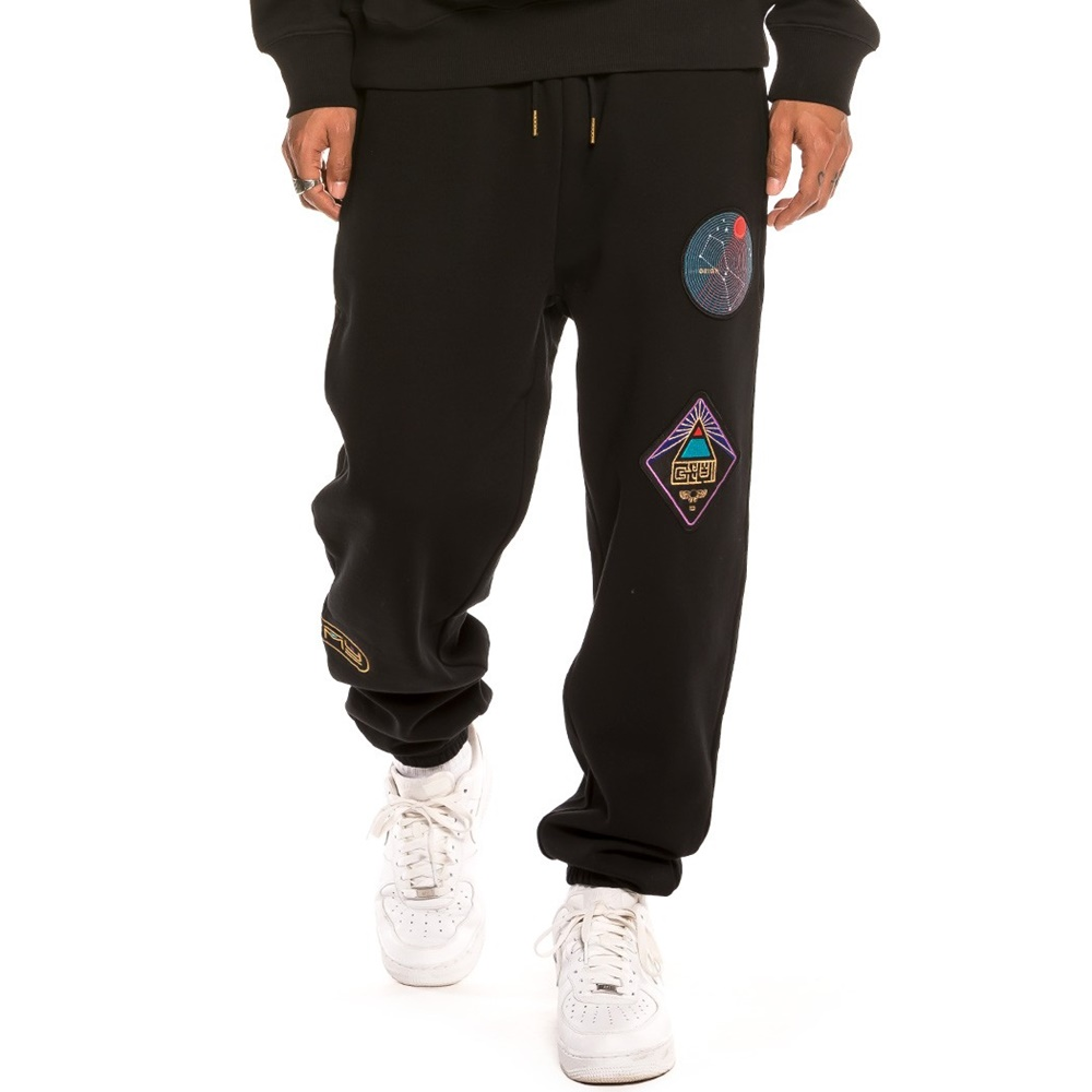 GRIMEY ENGINEERING SWEATPANTS BLACK