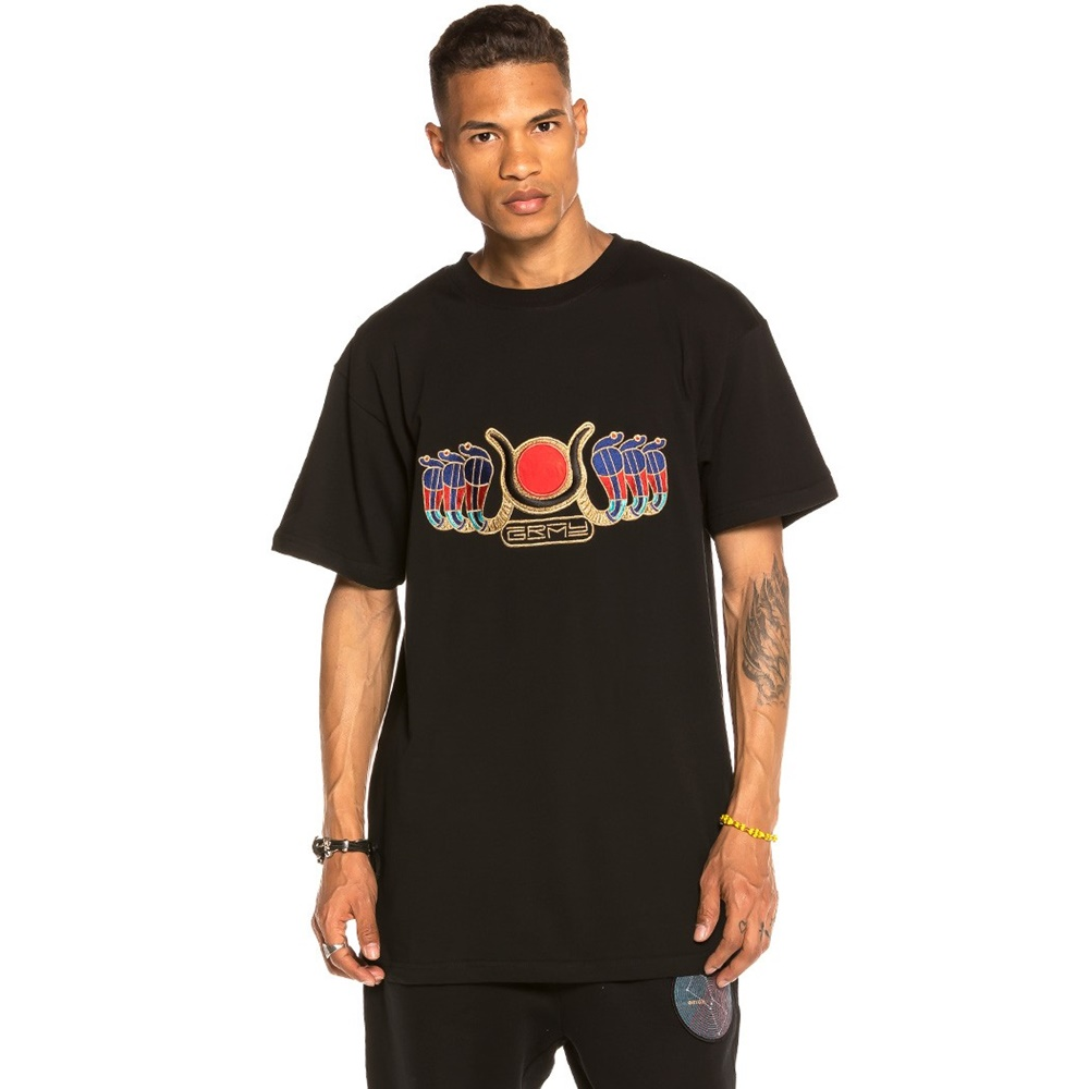 GRIMEY ENGINEERING TEE BLACK
