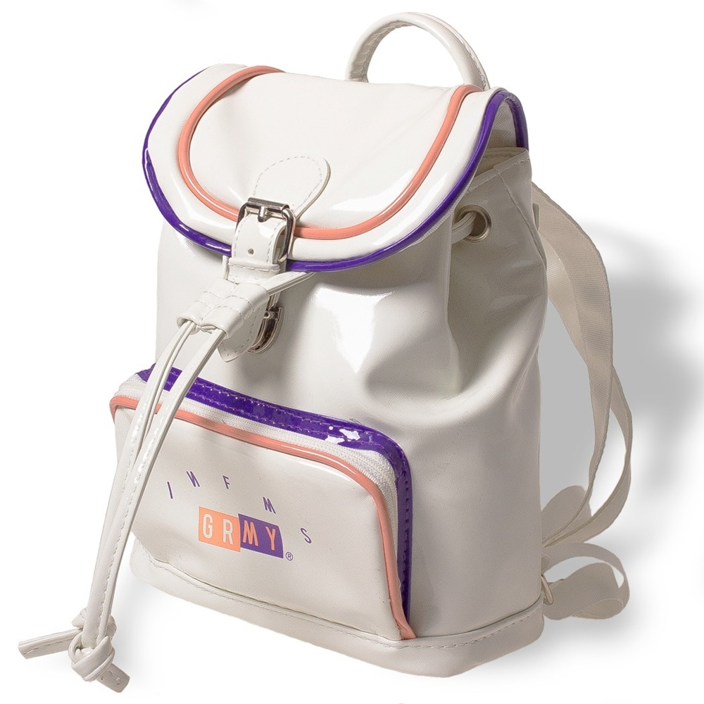GRIMEY MINI BACK PACK WHITE