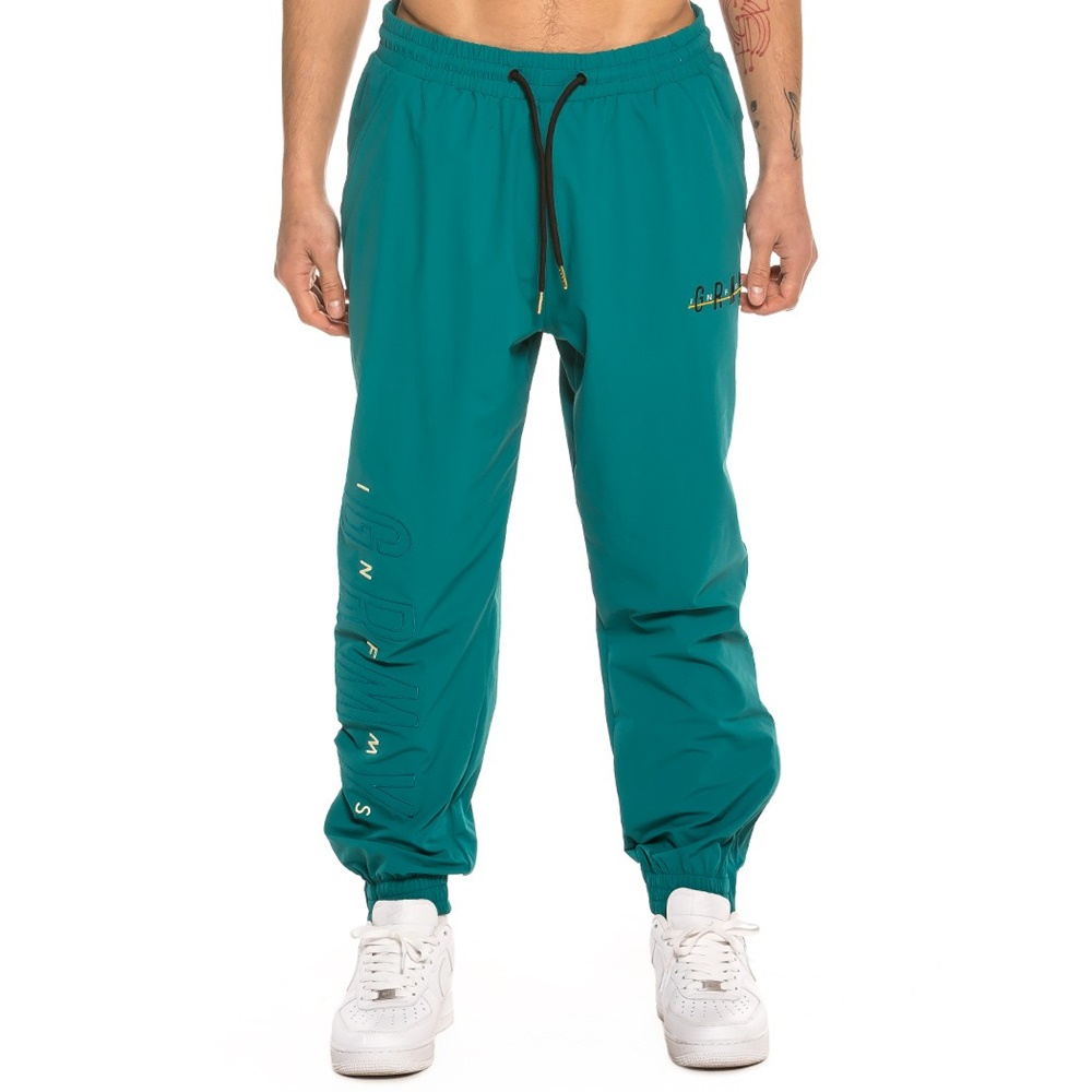 GRIMEY MIDNIGHT TRACK PANTS BLUE