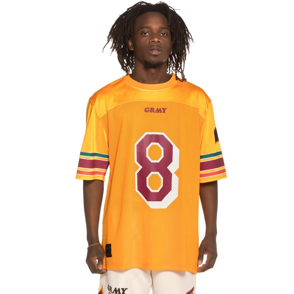 GRIMEY WILD CHILD FOOTBALL JERSEY APRICOT