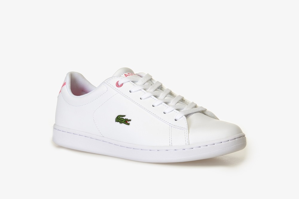 LACOSTE CARNABY EVO BL 2 SUJ WHITE/PINK