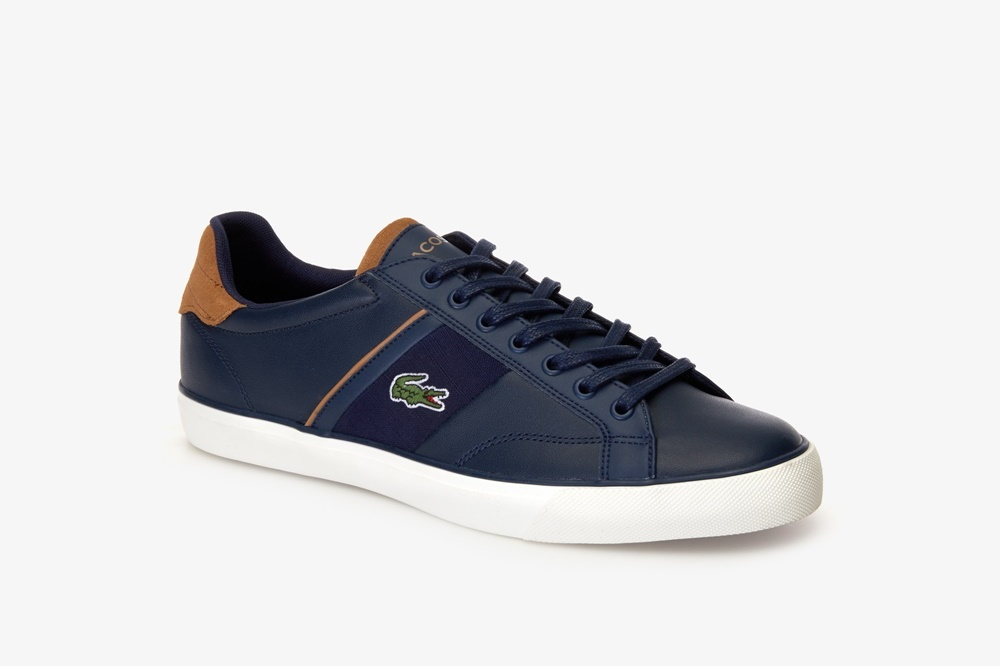 LACOSTE FAIRLEAD 119 1 NAVY/LIGHT BROWN