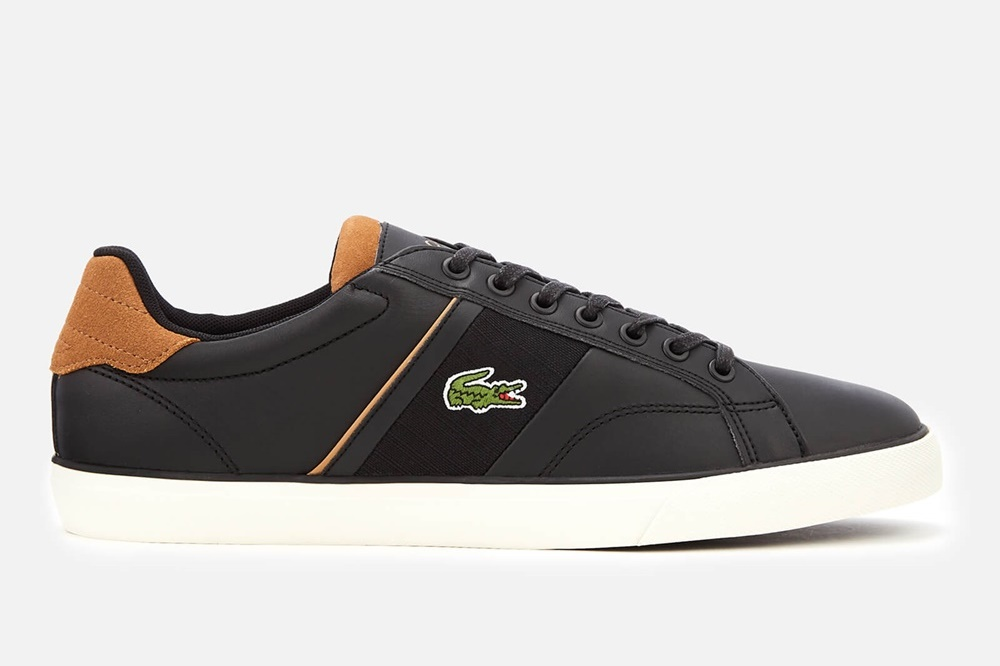 LACOSTE FAIRLEAD 119 1 BLACK/LIGHT BROWN