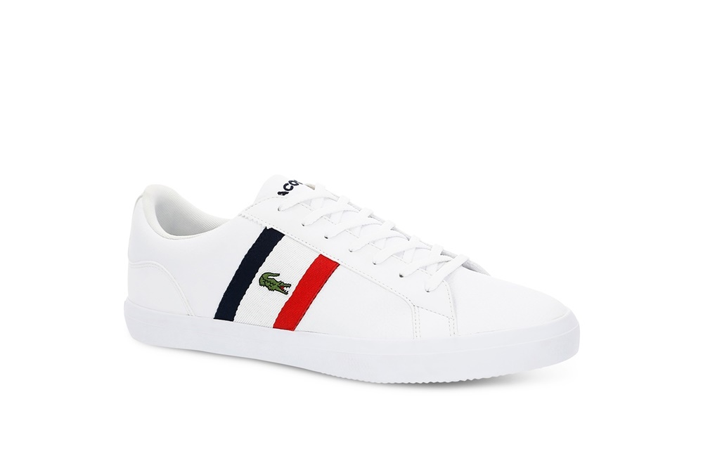 LACOSTE LEROND 119 3 WHITE/RED/NAVY