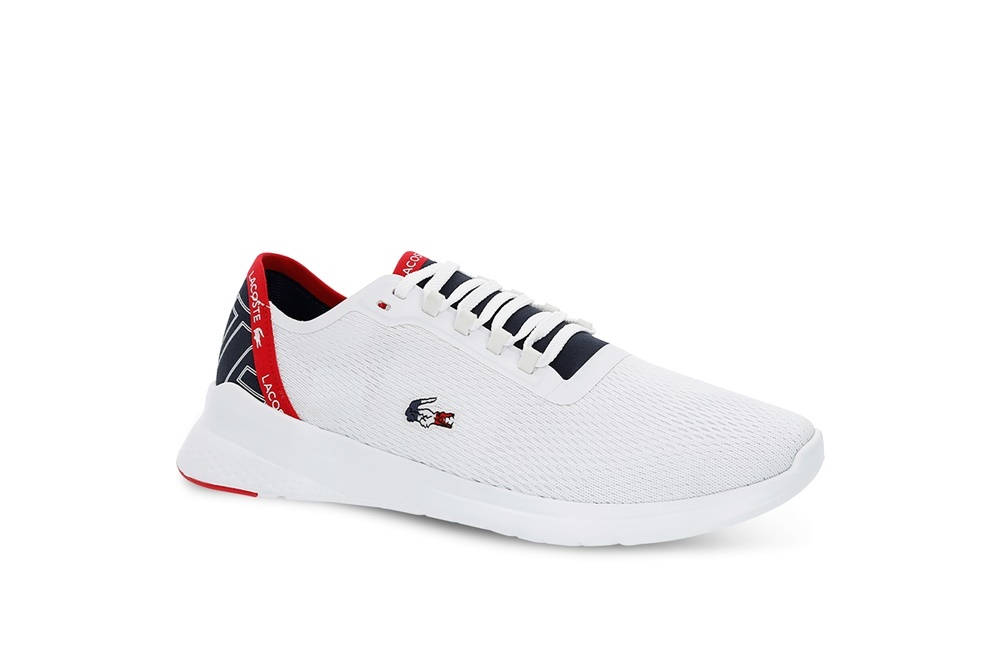 LACOSTE LT FIT 119 5 WHITE/NAVY/RED