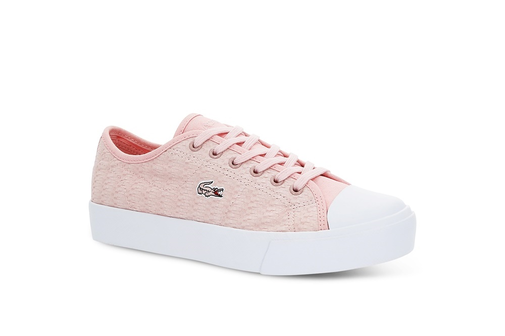 LACOSTE ZIANE PLUS GRAND 119 2 CFA LIGHT PINK/WHITE