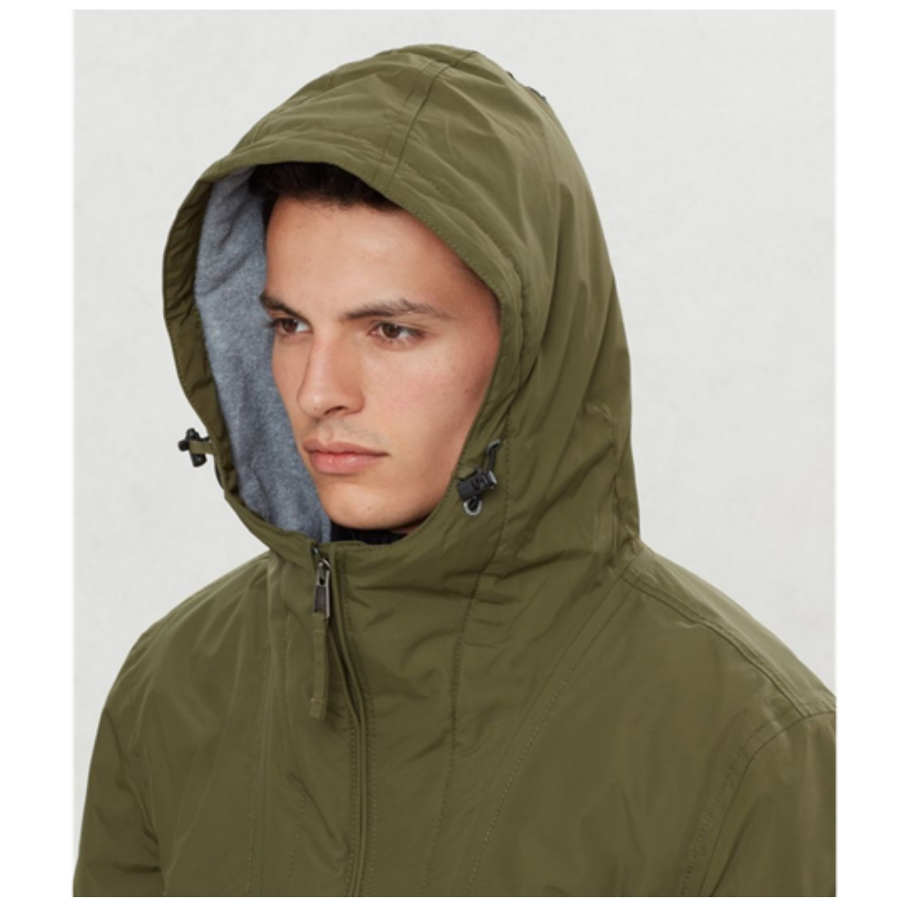 Abrigo Napapijri RAINFOREST POCKET en color verde para hombre-f