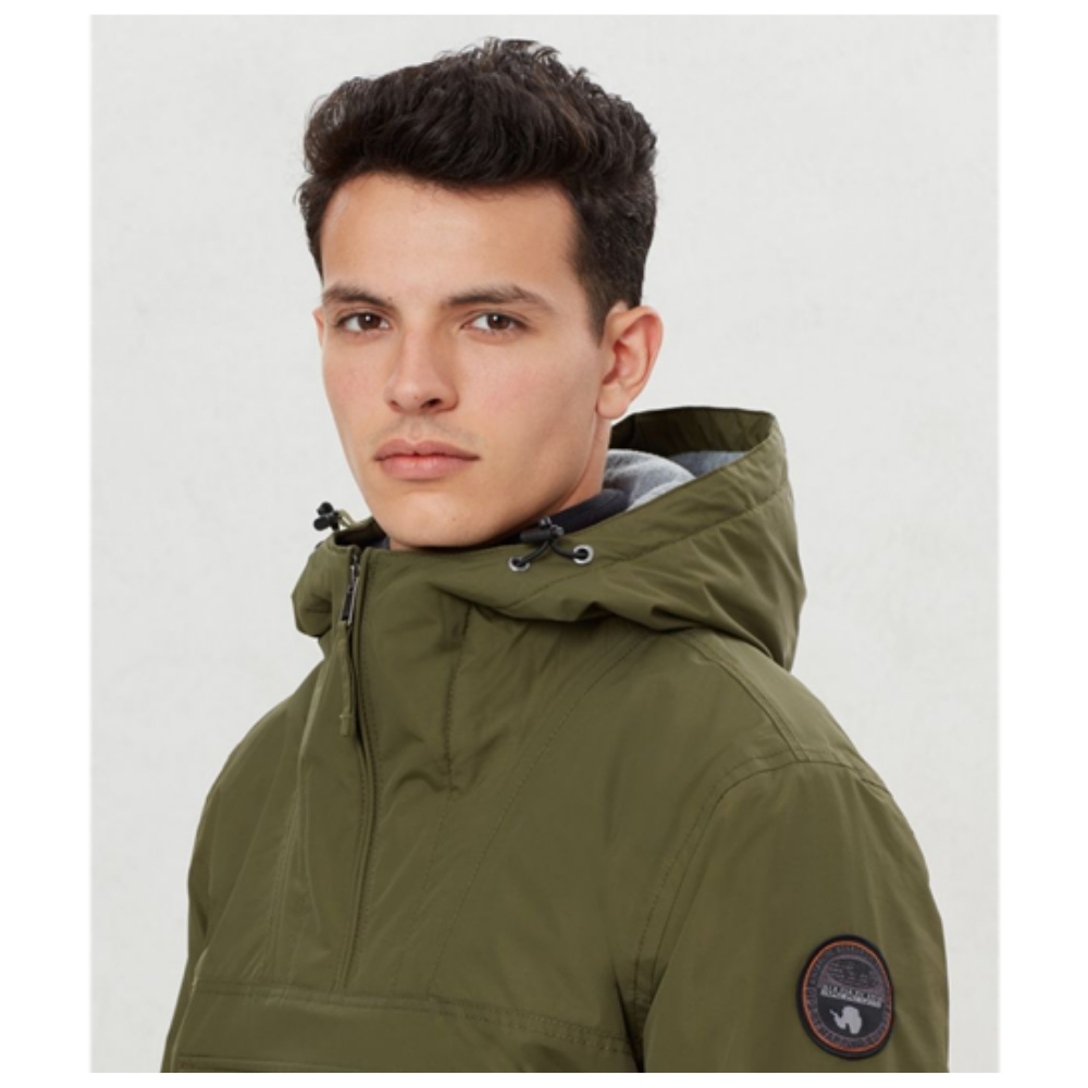 Abrigo Napapijri RAINFOREST POCKET en color verde para hombre-h