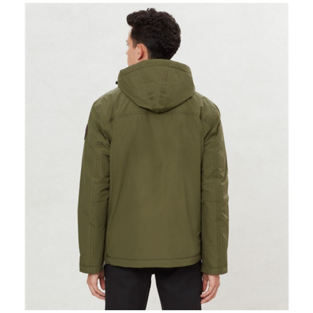Abrigo Napapijri RAINFOREST POCKET en color verde para hombre-i