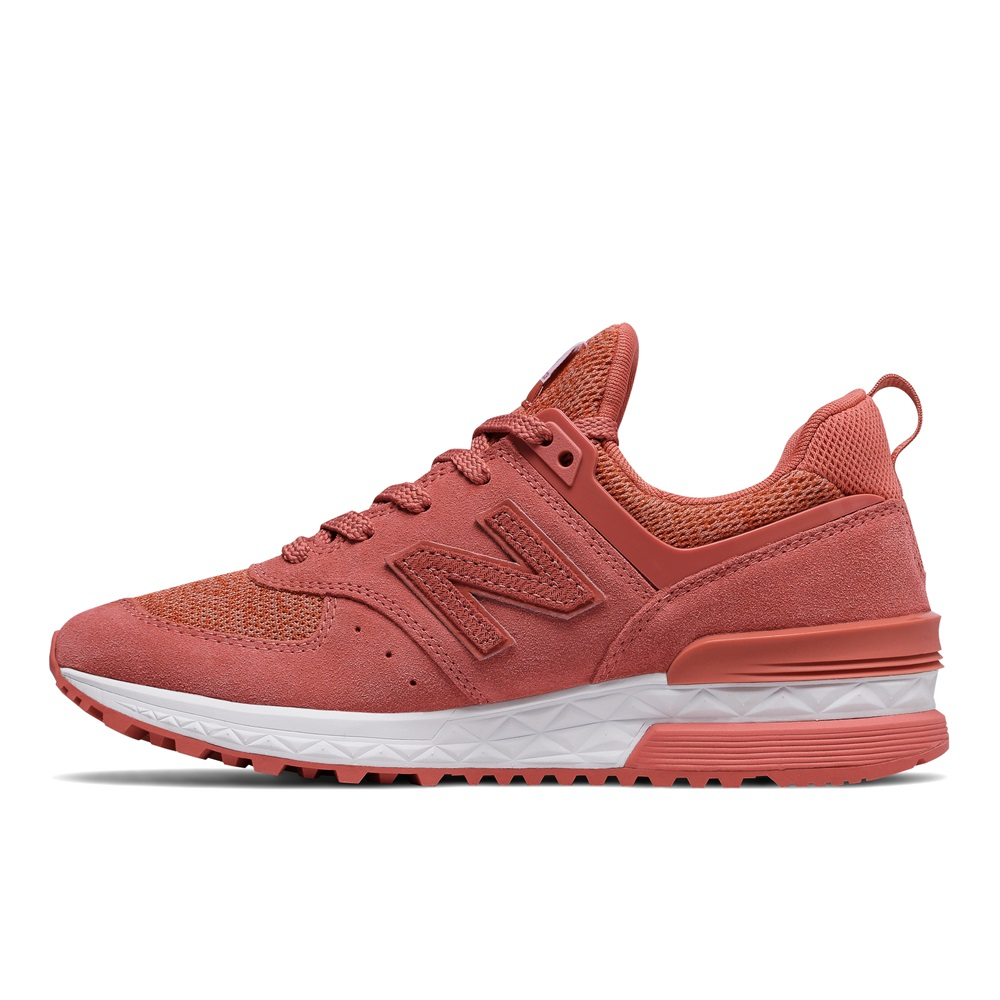 new balance 574 sport mujer rosa