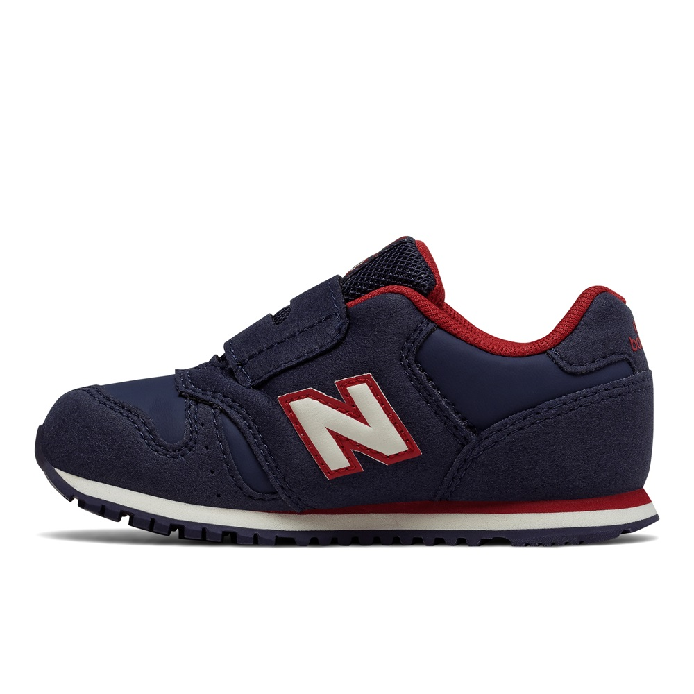 Zapatillas New Balance modelo KV373 NDI en color azul marino para junior