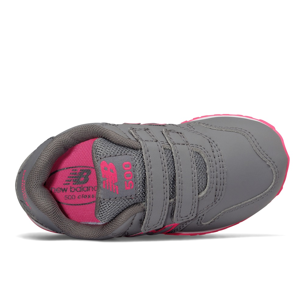 Zapatillas New Balance modelo KV500 en color gris para junior-b