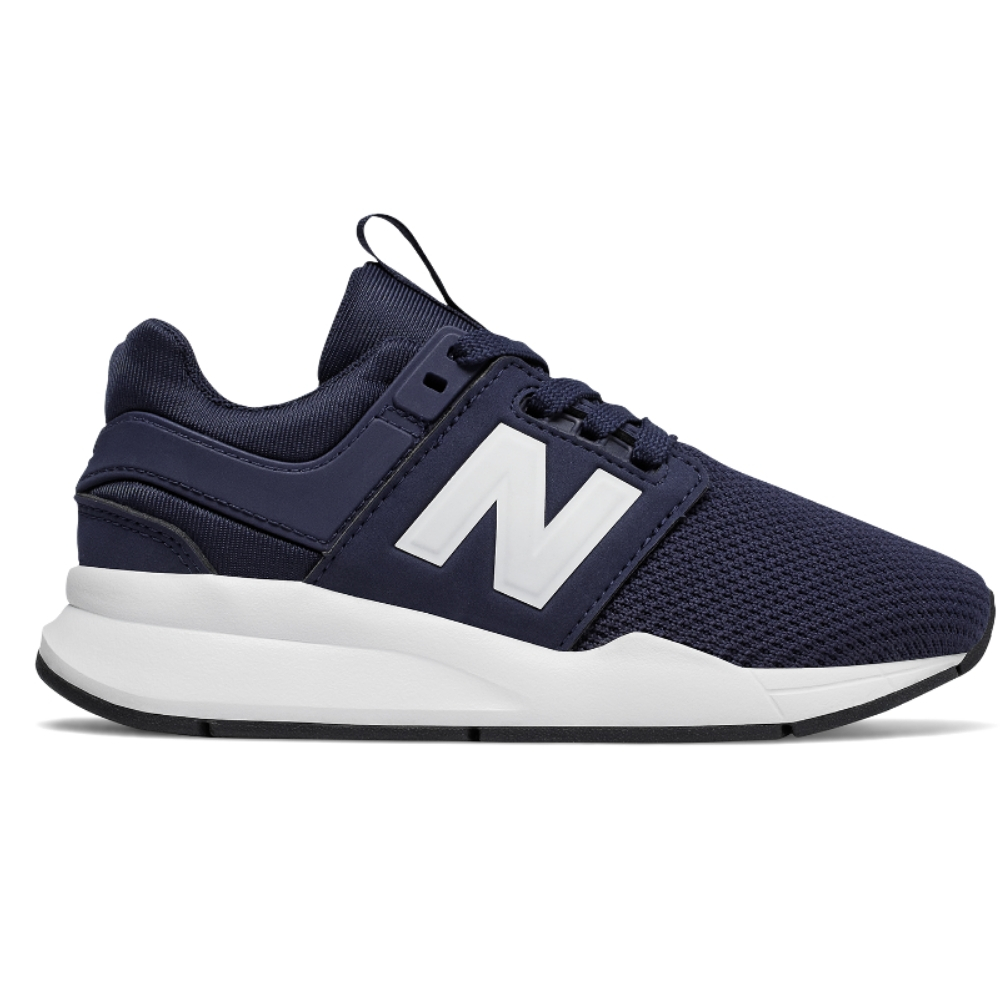 Zapatillas New Balance KL247 junior en color azul-d