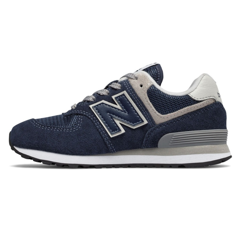 19ba19d24 Zapatillas New Balance GC574 junior en color azul marino y gris-a