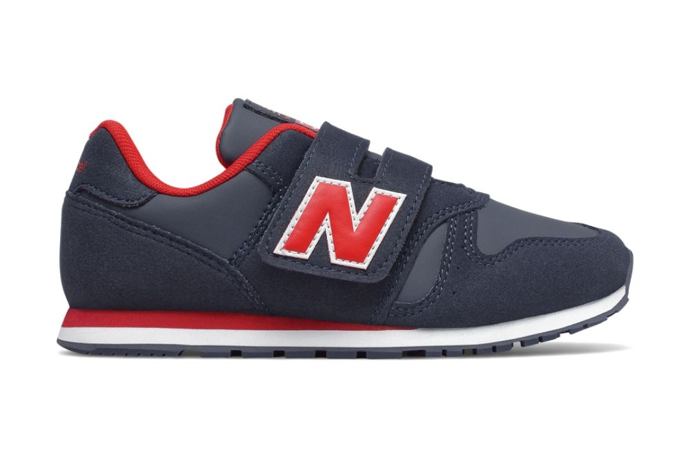 NEW BALANCE YV373 NAVY/RED