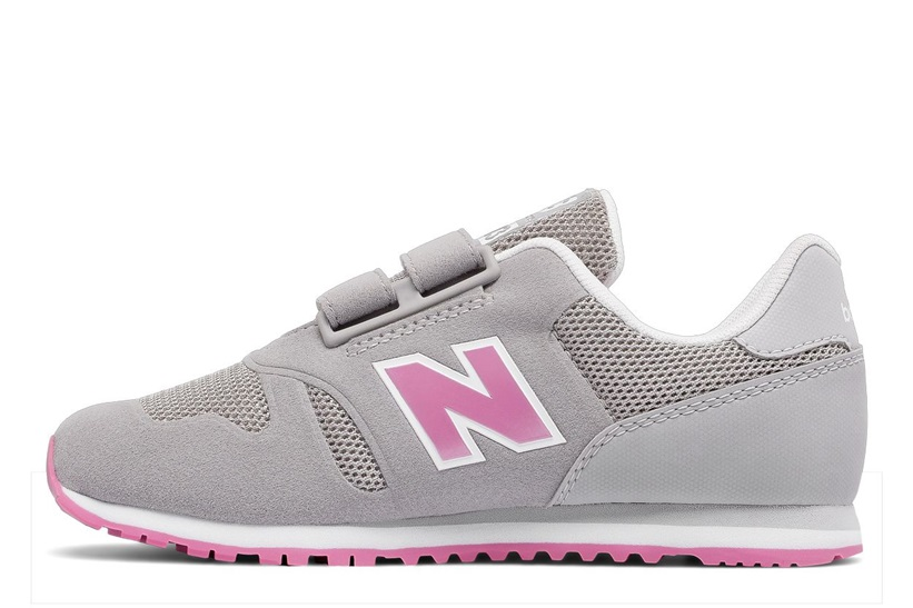 Zapatillas New Balance modelo 373 para niña en color gris