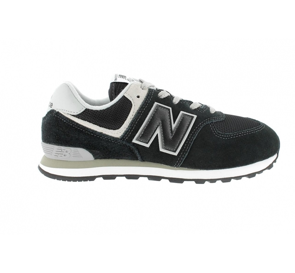Zapatillas New Balance modelo GC574 GK en color negro para junior-f