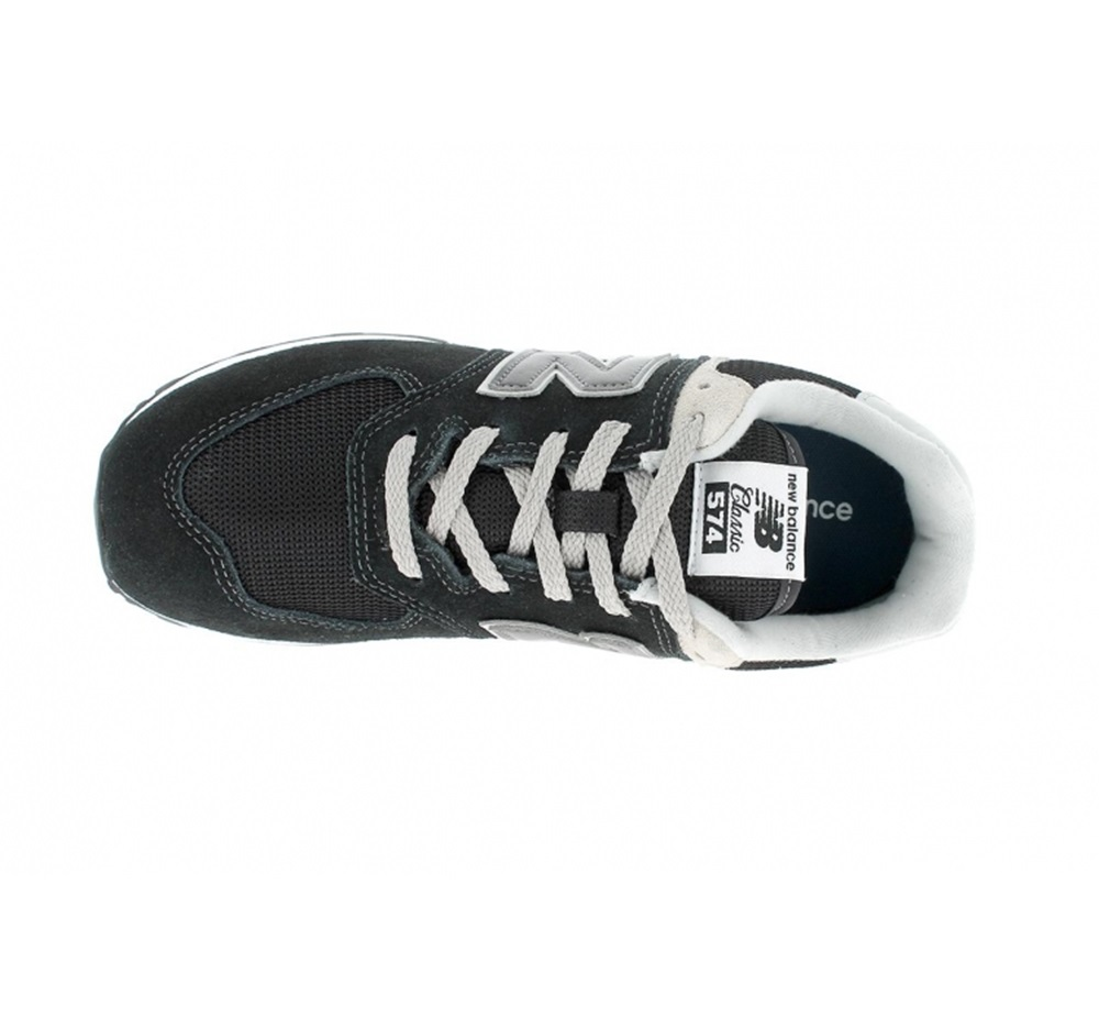 Zapatillas New Balance modelo GC574 GK en color negro para junior