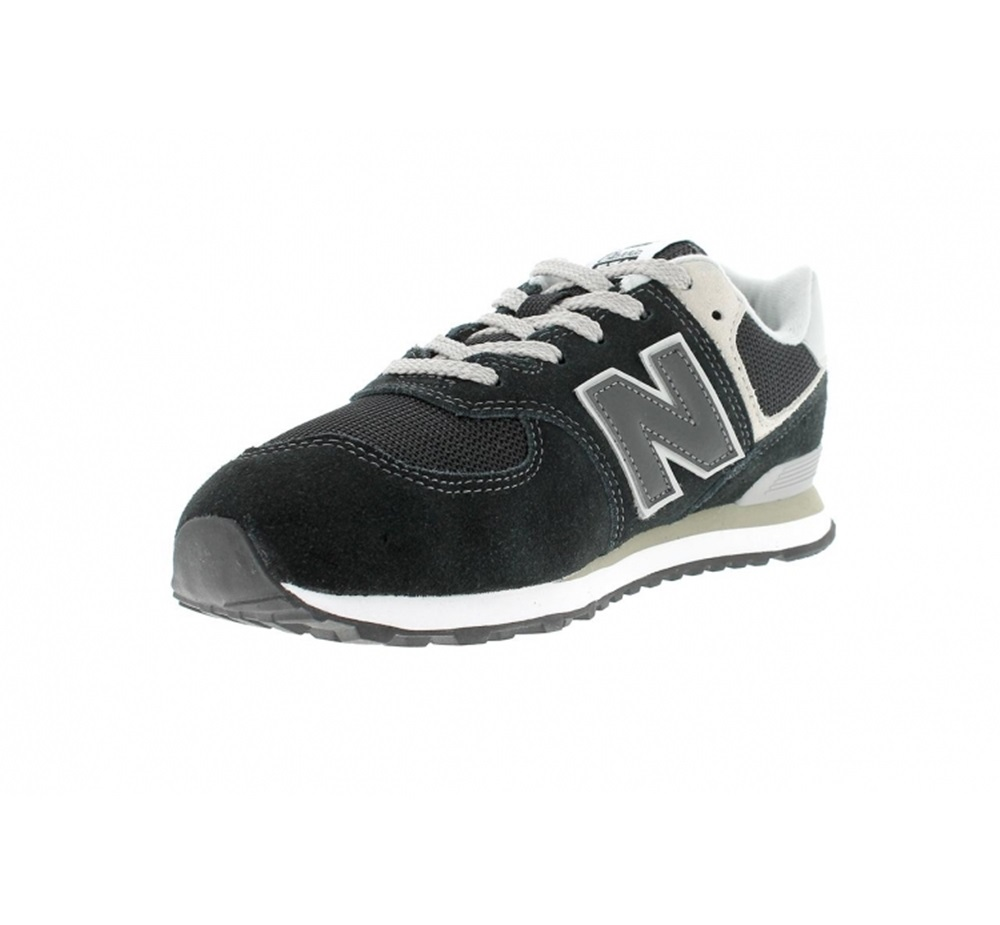 Zapatillas New Balance modelo GC574 GK en color negro para junior-d