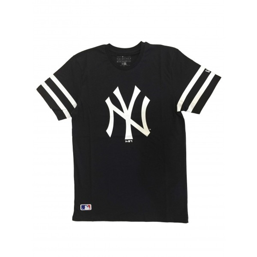NEW ERA MLB TEAM LOGO TEE MLB TEAM LOGO TEE NEW YORK YANKEES NAVY