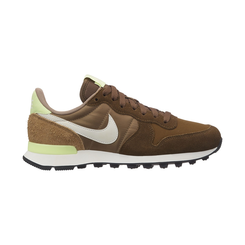 Zapatillas Nike modelo Internationalist en color khaki para mujer-b