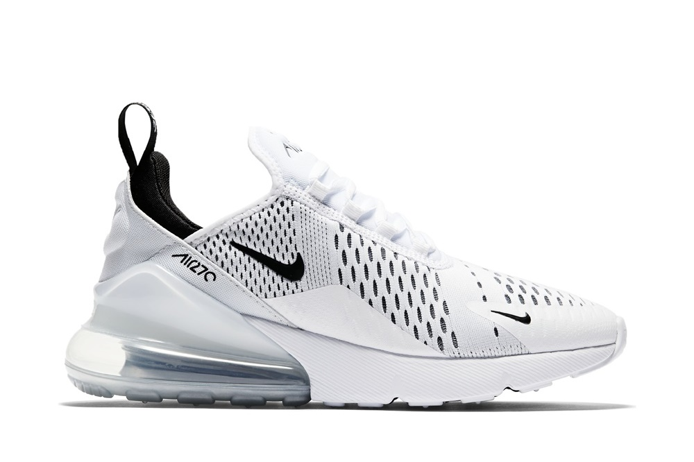 NIKE AIR MAX 270 WHITE/BLACK-WHITE