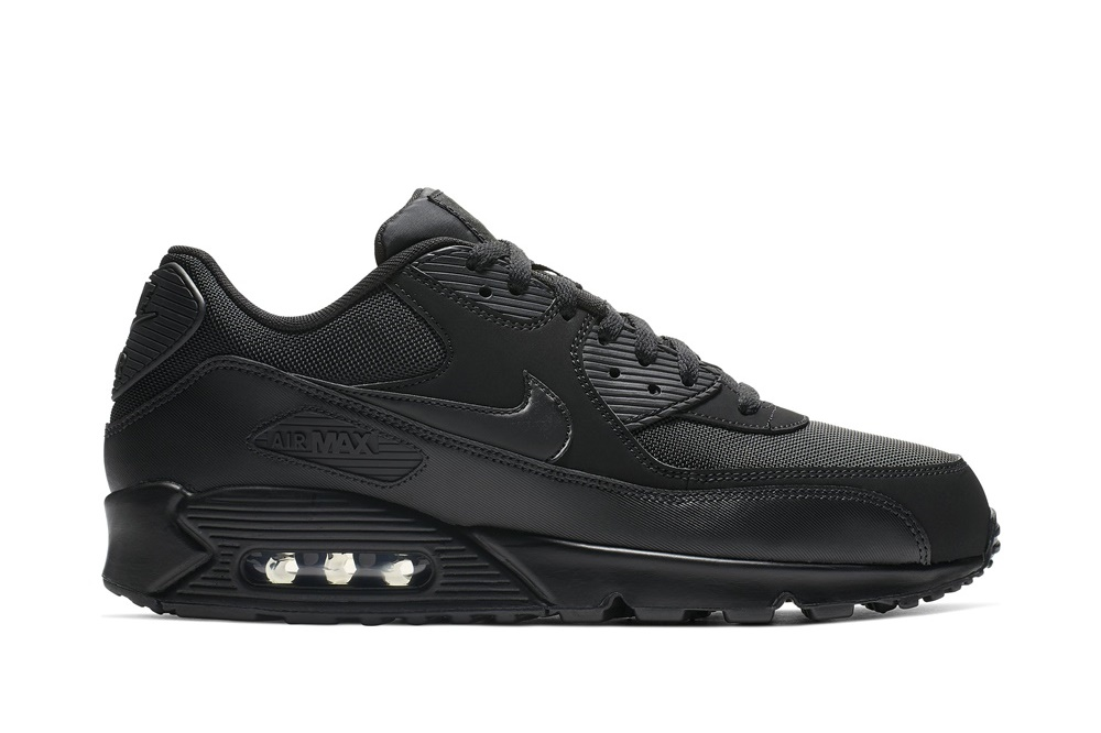 NIKE AIR MAX '90 ESSENTIAL SHOE BLACK/BLACK-BLACK-BLACK