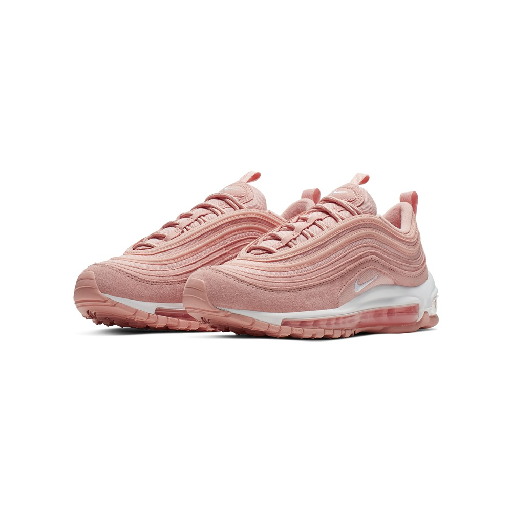 Zapatillas NIKE AIR MAX 97 PE CORAL STARDUST-WHITE junior en color rosa. Ref.: BQ7231-600-c