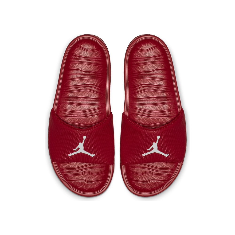 Chanclas NIKE JORDAN BREAK GYM RED-WHITE para hombre en color rojo.-c