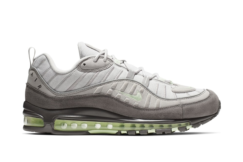 NIKE NIKE AIR MAX 98 VAST GREY/FRESH MINT-ATMOSPHERE GREY