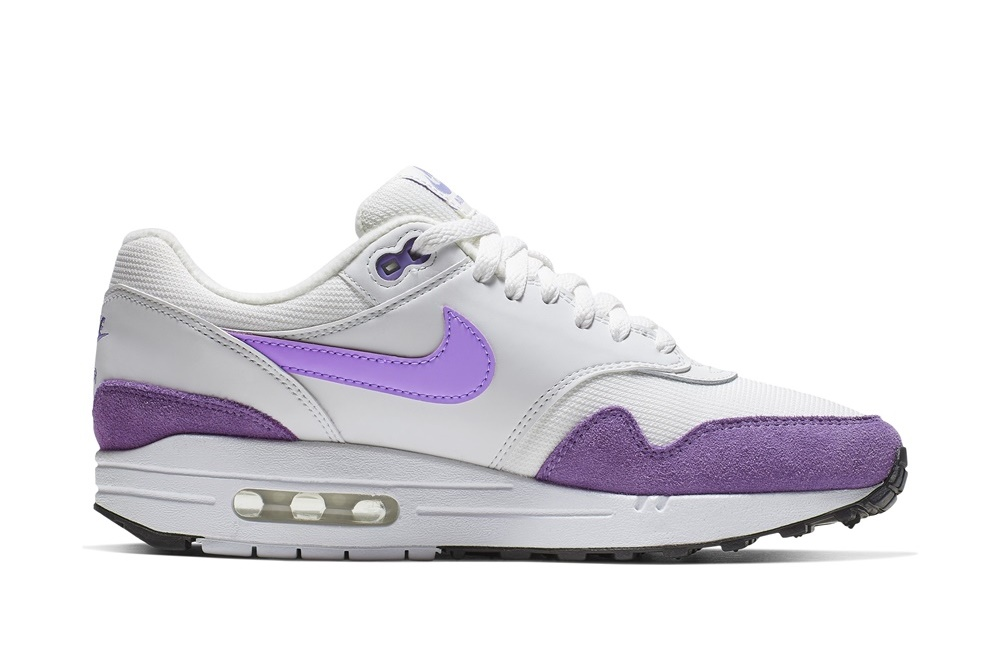 NIKE AIR MAX 1 PREMIUM SUMMIT WHITE/ATOMIC VIOLET-BLACK