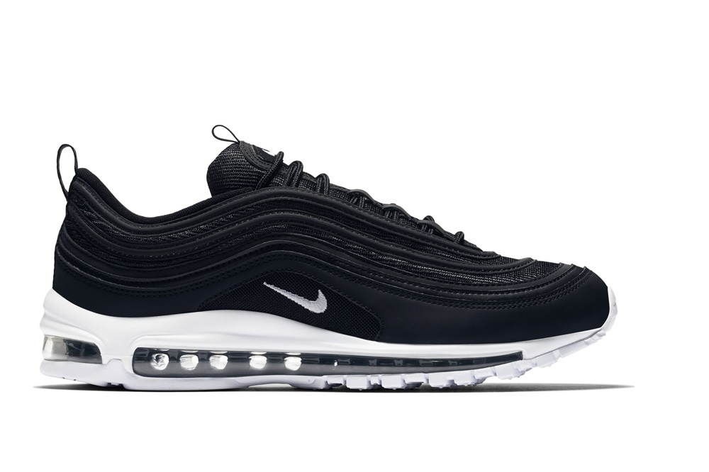 NIKE MEN'S NIKE AIR MAX 97 SHOE Black/White