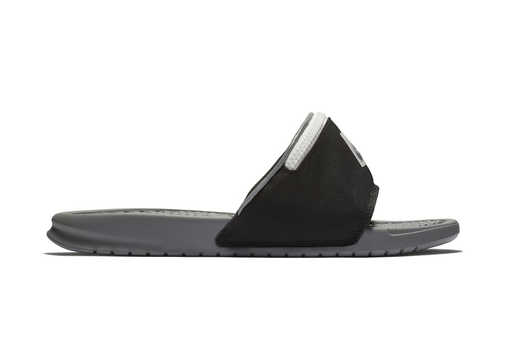 NIKE BENASSI JDI FANNY PACK BLACK/COOL GREY-SUMMIT WHITE