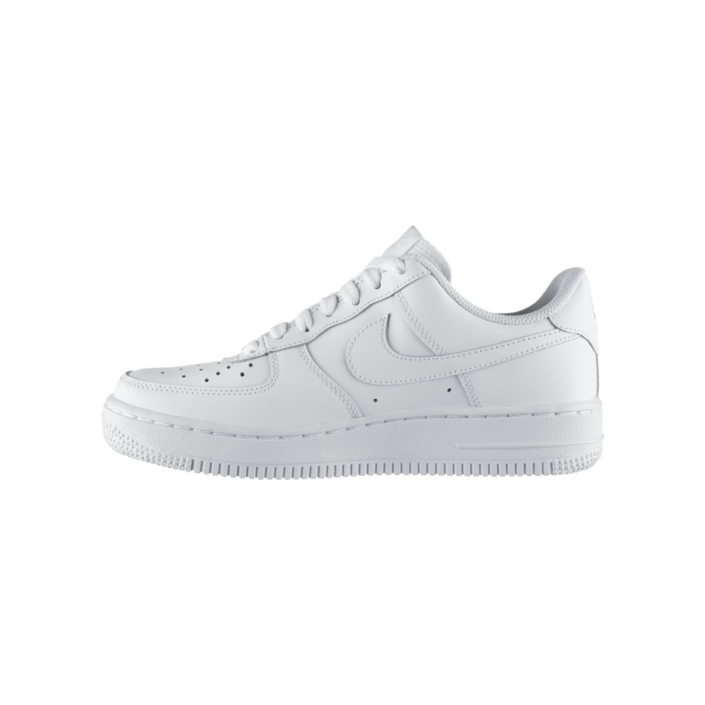 Zapatillas Nike modelo Air Force 1 (Gs) en color blanco para junior