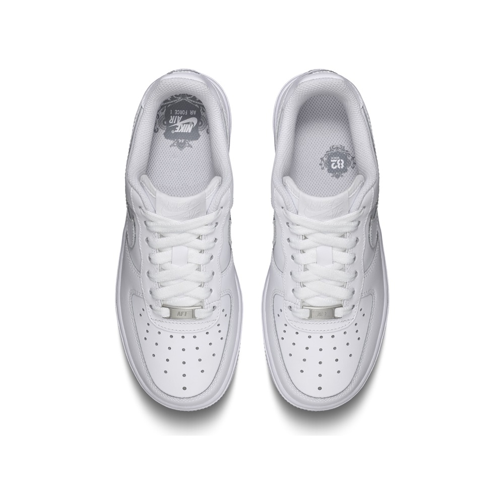 Zapatillas Nike modelo Air Force 1 (Gs) en color blanco para junior-d