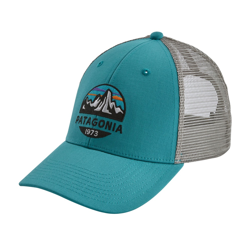 PATAGONIA FITZ ROY SCOPE LOPRO TRUCKER HAT MAKO BLUE
