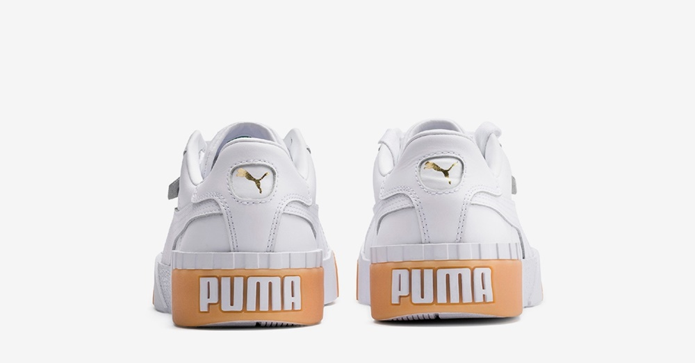 Zapatillas Puma modelo California Exotic en color blanco para mujer-c