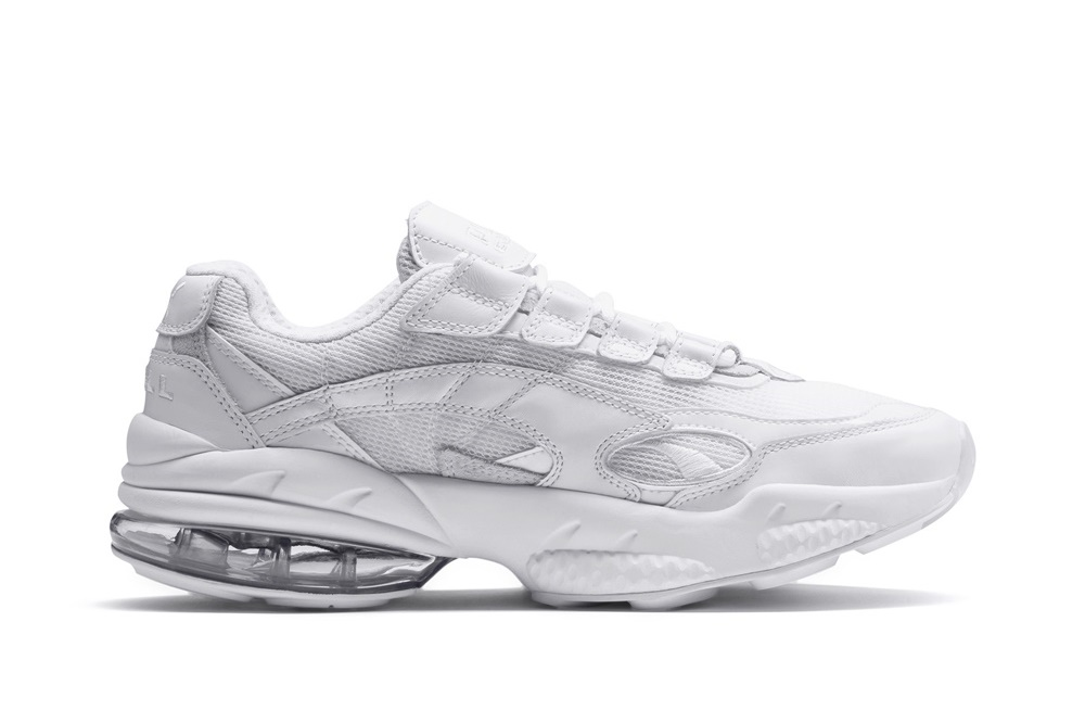 PUMA CELL VENOM REFLECTIVE WHITE-