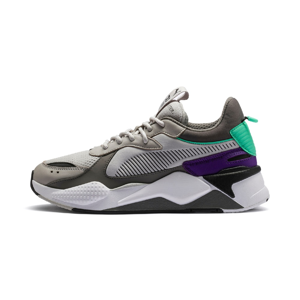 Zapatillas Puma RS-X TRACKS GRAY CHARCOAL para hombre en color gris y violeta-g