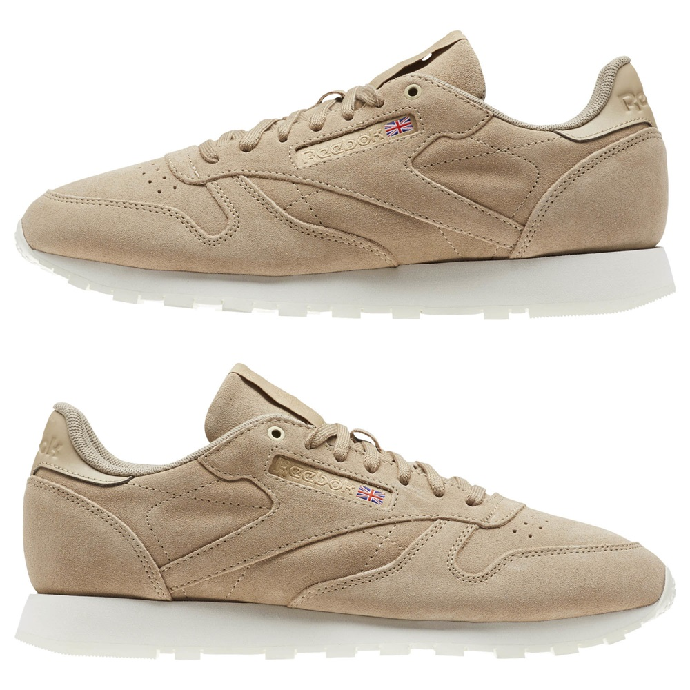 bb5269393 Zapatillas Reebok modelo Classic Leather en color marrón para mujer-f