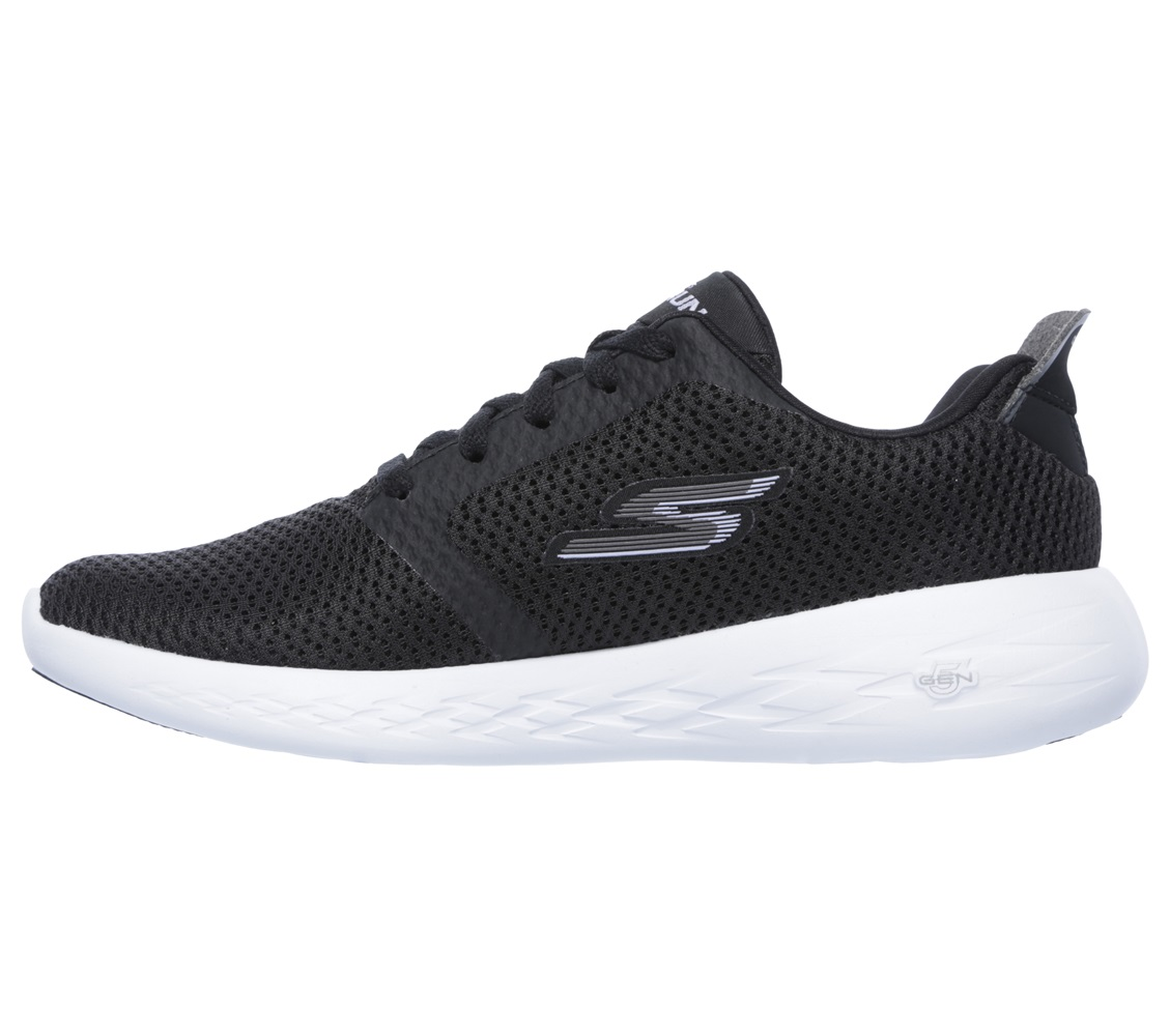 Skechers - go Run 600 - Refine Black Textile/White Trim