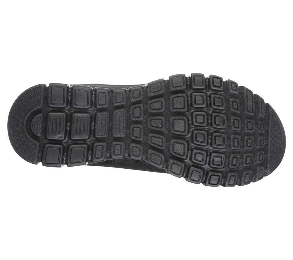 Zapatillas Skechers modelo Graceful Get Connected en color negro para mujer-d
