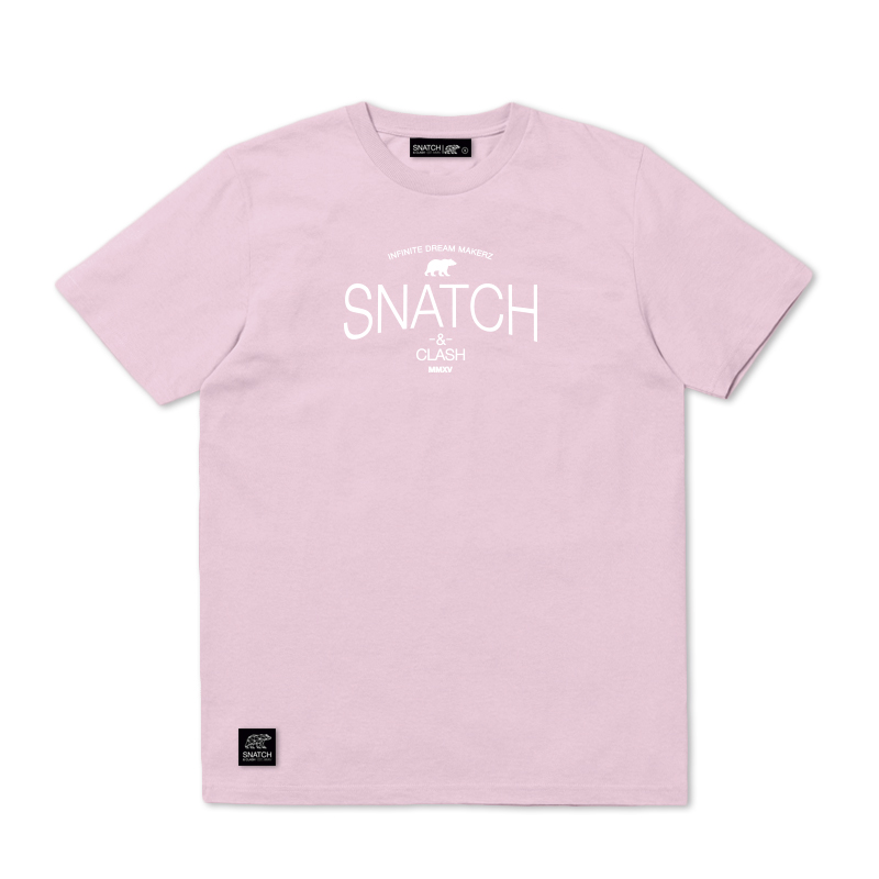 SNATCH AND CLASH GYM LIGHT PINK