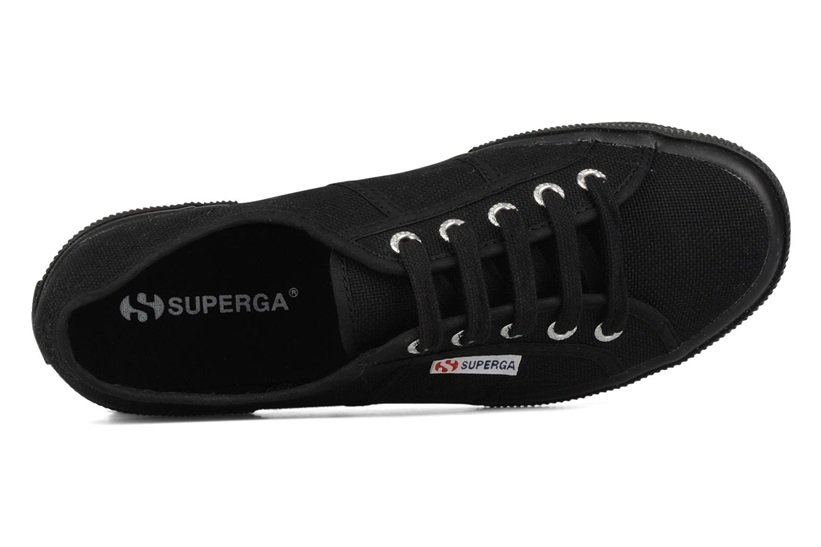 Zapatillas Superga modelo 2750 Cotu Classic en color negro-d