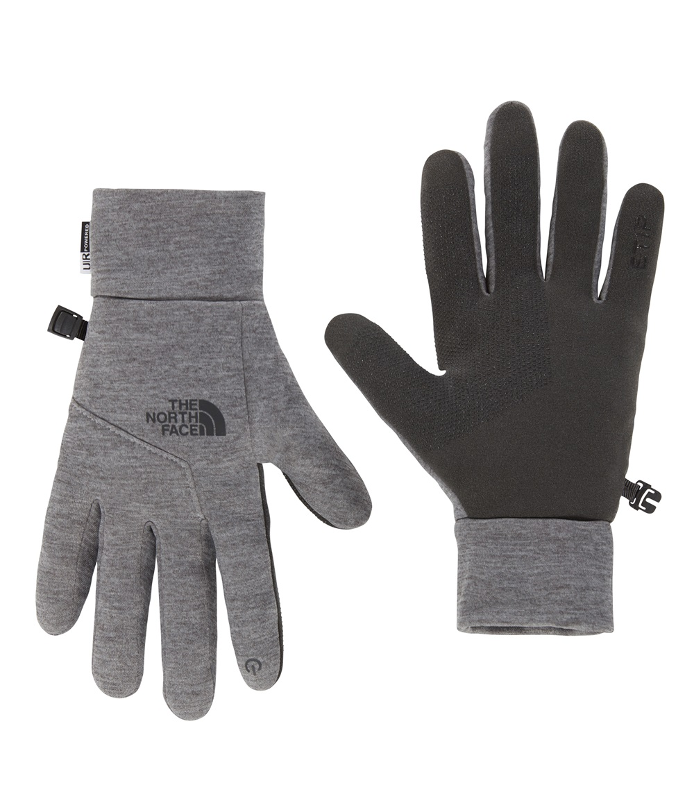 Guantes The North face ETIP GLOVE en color gris.-a