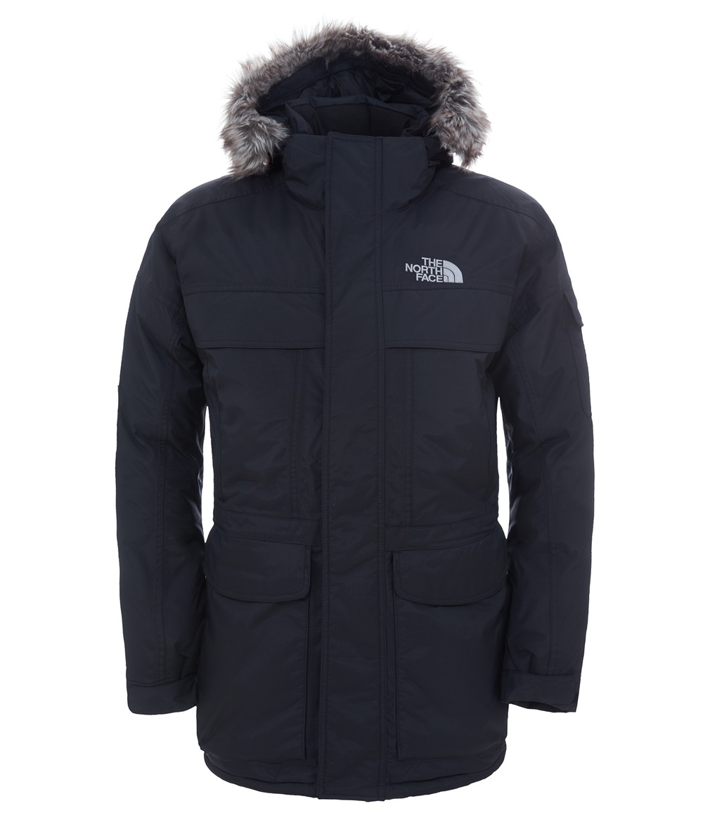 Abrigo The North Face modelo Mcmurdo en color negro para hombre-b