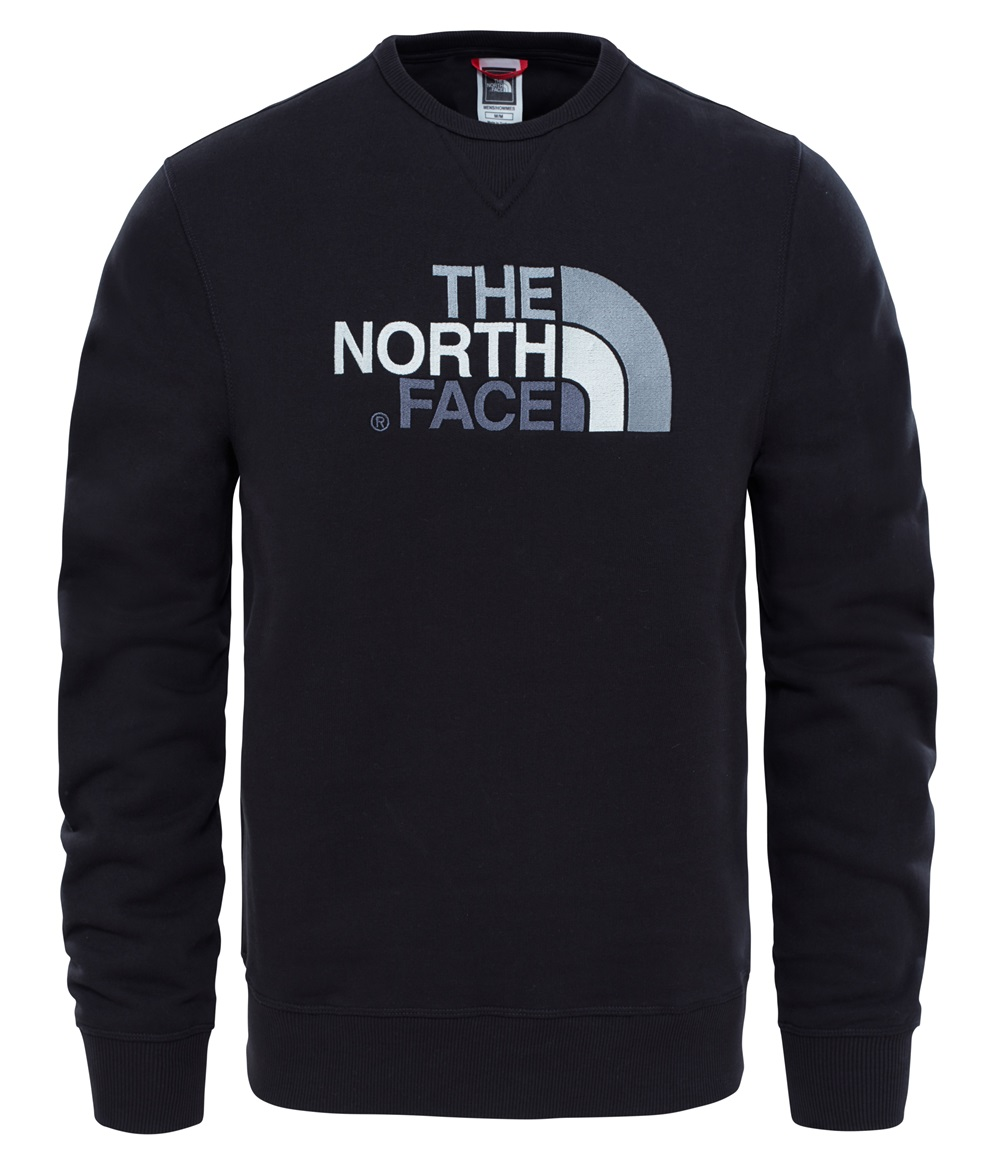 Sudadera The North face DREW PEAK CREW para hombre en color negro.-b