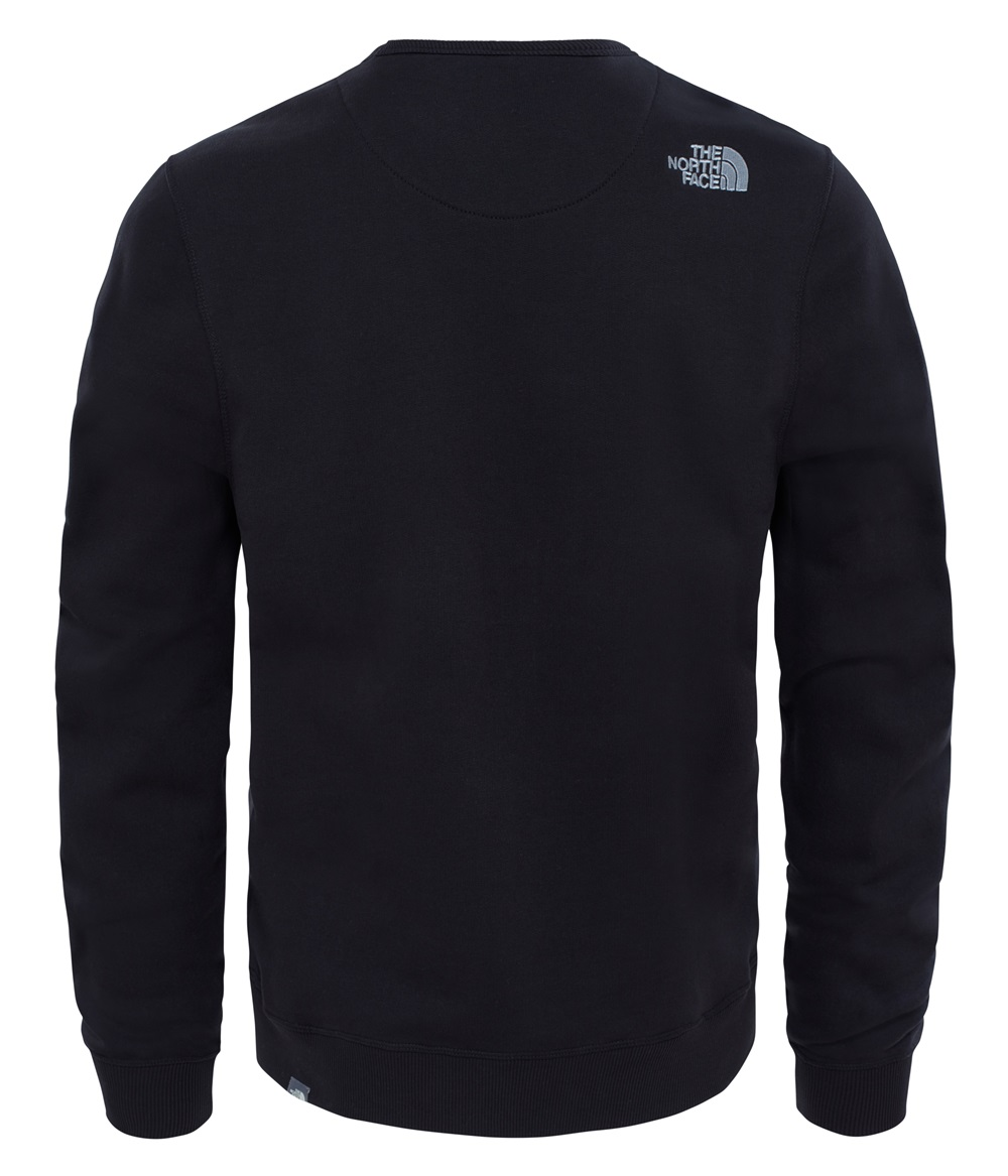 Sudadera The North face DREW PEAK CREW para hombre en color negro.-a